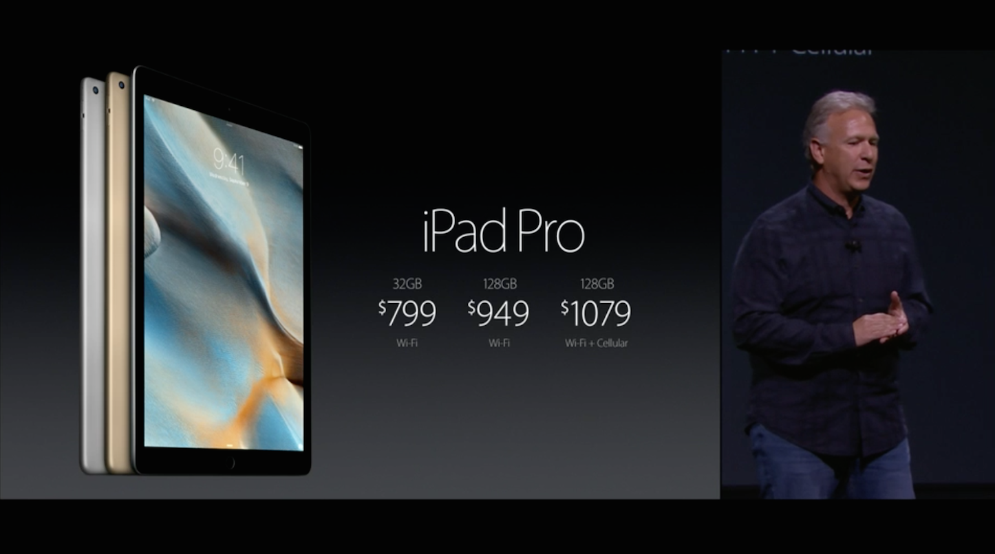 IPad Pro Pricing