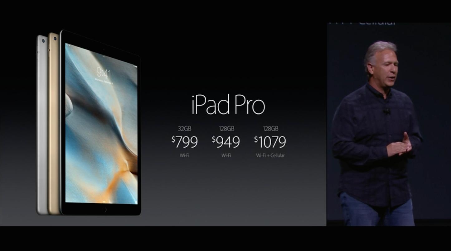 IPad Pro Pricing