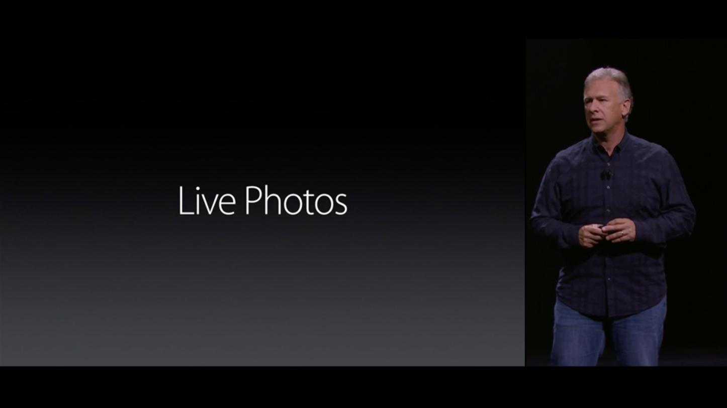 「Live Photos」に対応