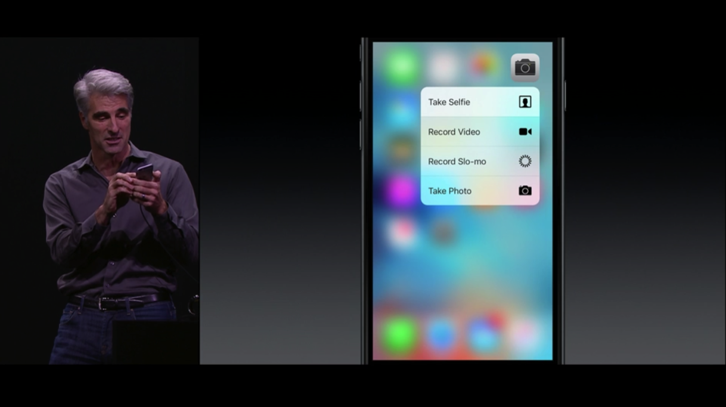 IPhone 6s 6s Plus 3D Touch