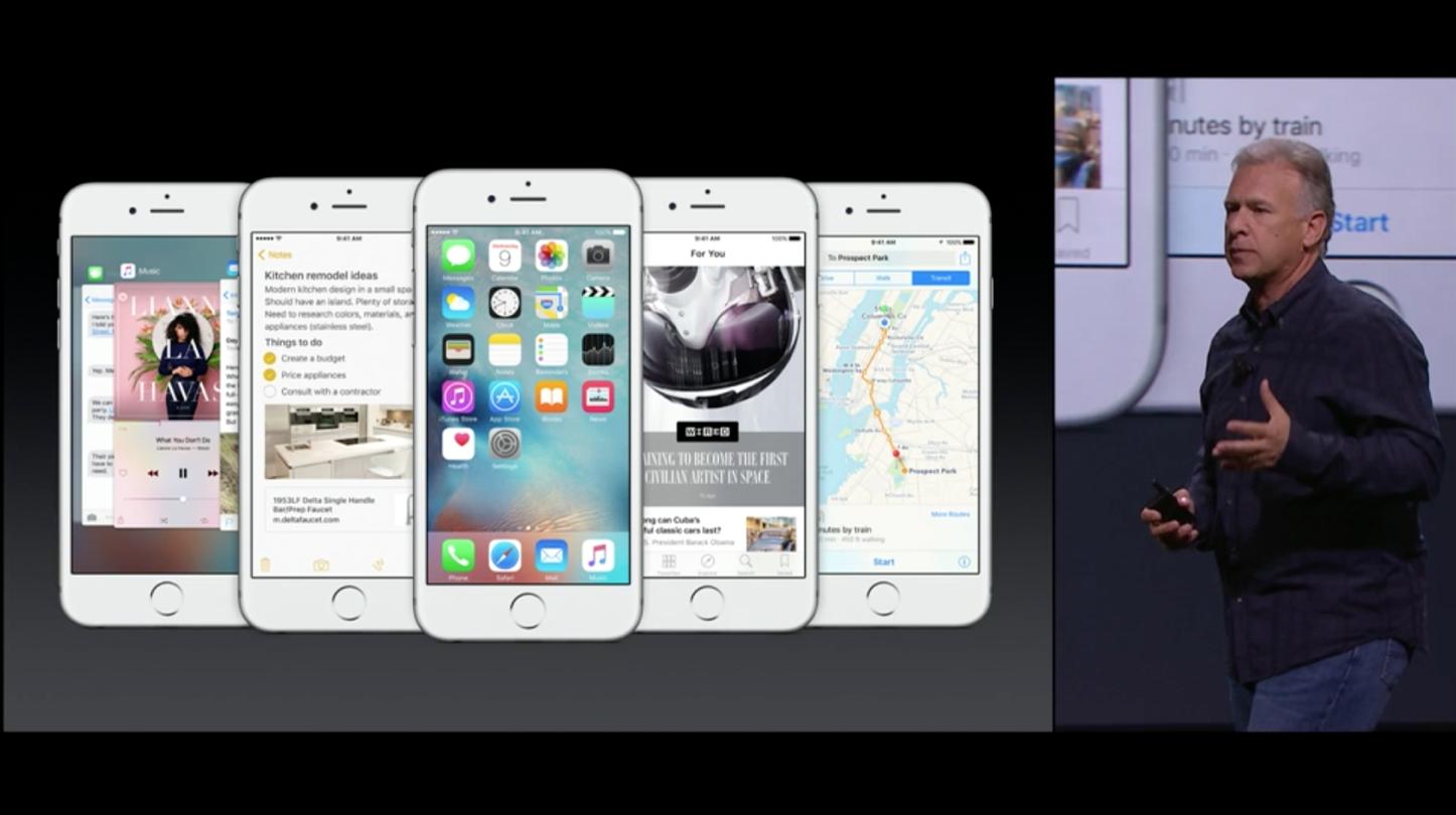IPhone 6s 6s Plus iOS 9
