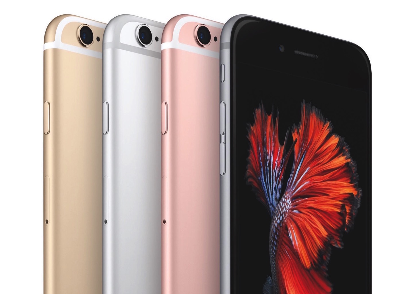 iPhone 6s」と「iPhone 6s Plus...