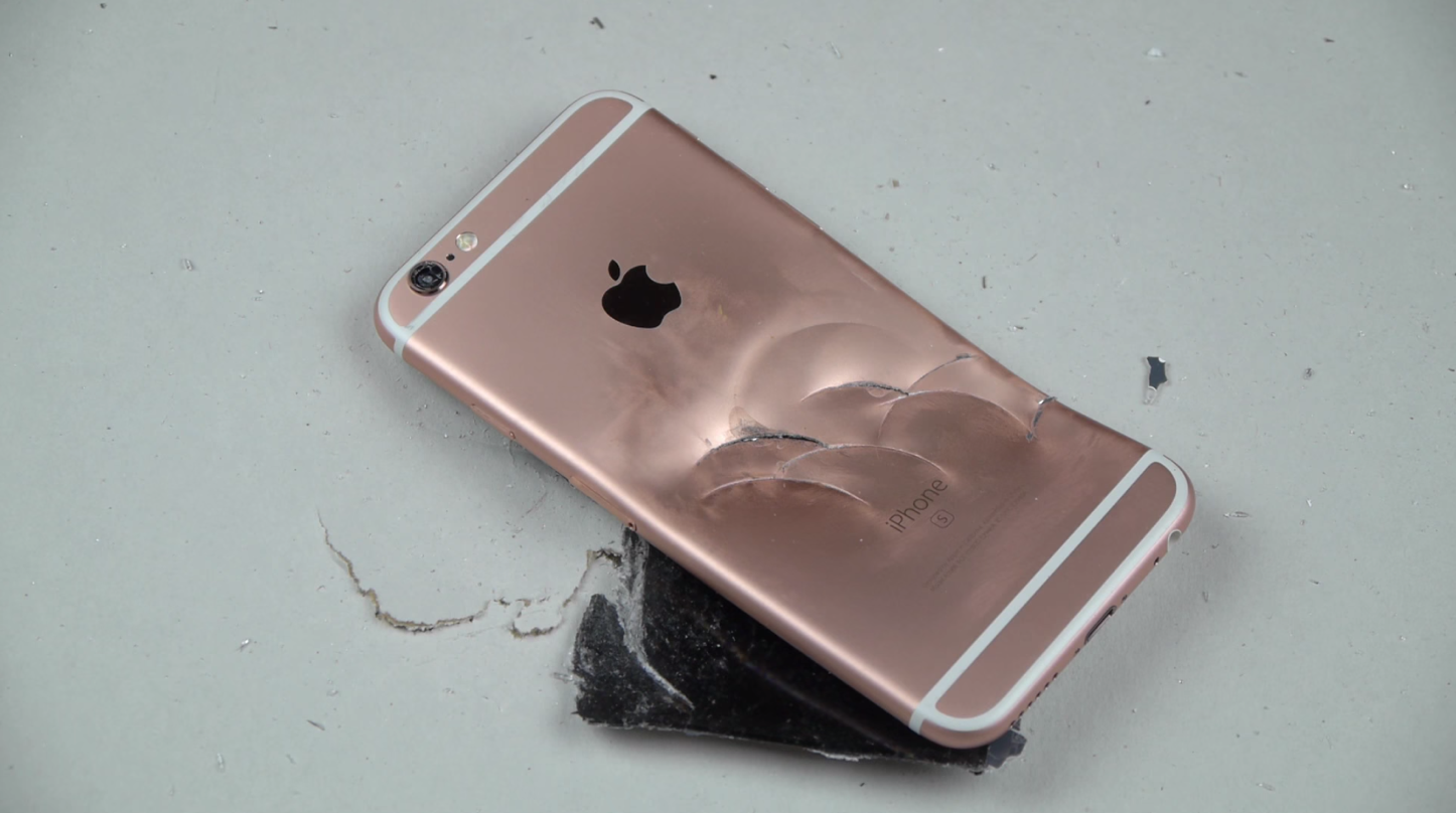IPhone6sの過激な実験動画