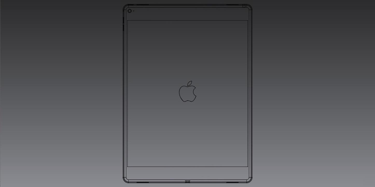 iPad Pro Rendering