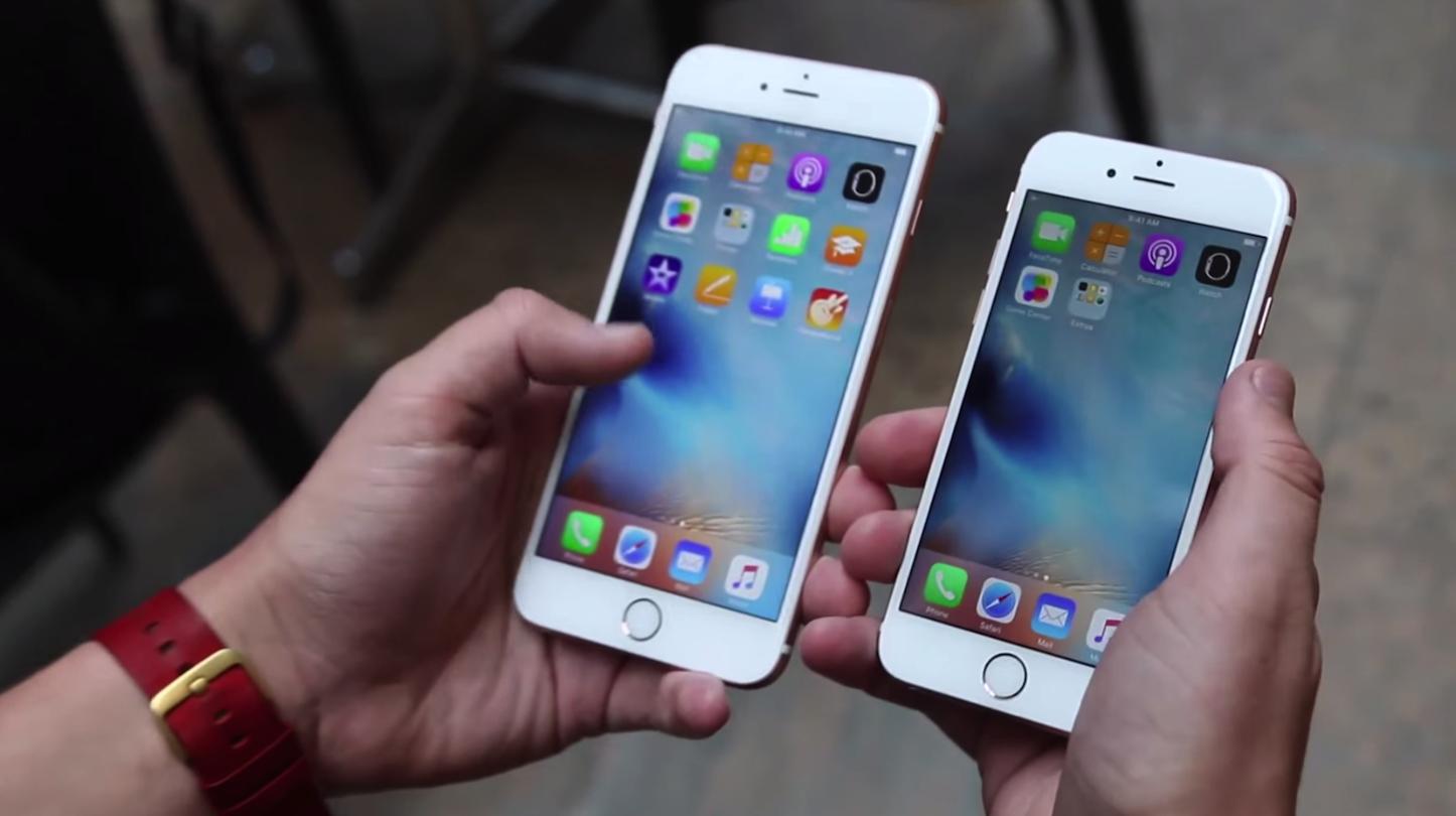 Iphone6s6splus drop test