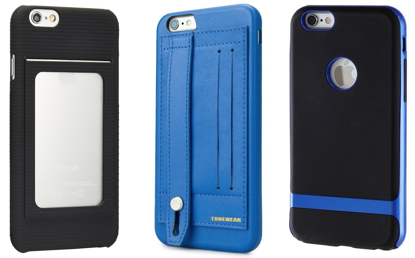 非手帳型のiPhoneケース(ICカード収納可)