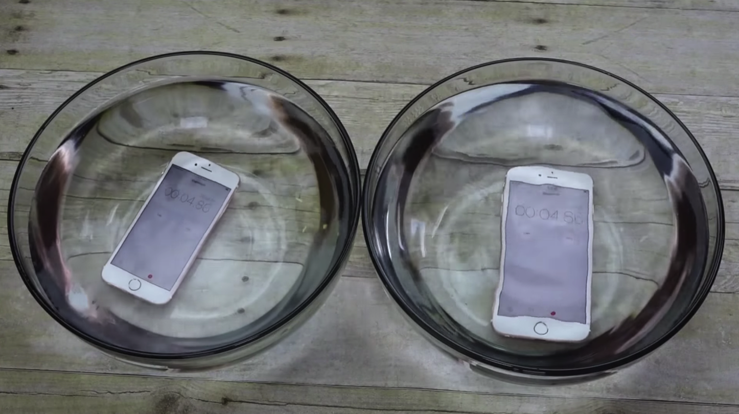 Water resistant iPhone