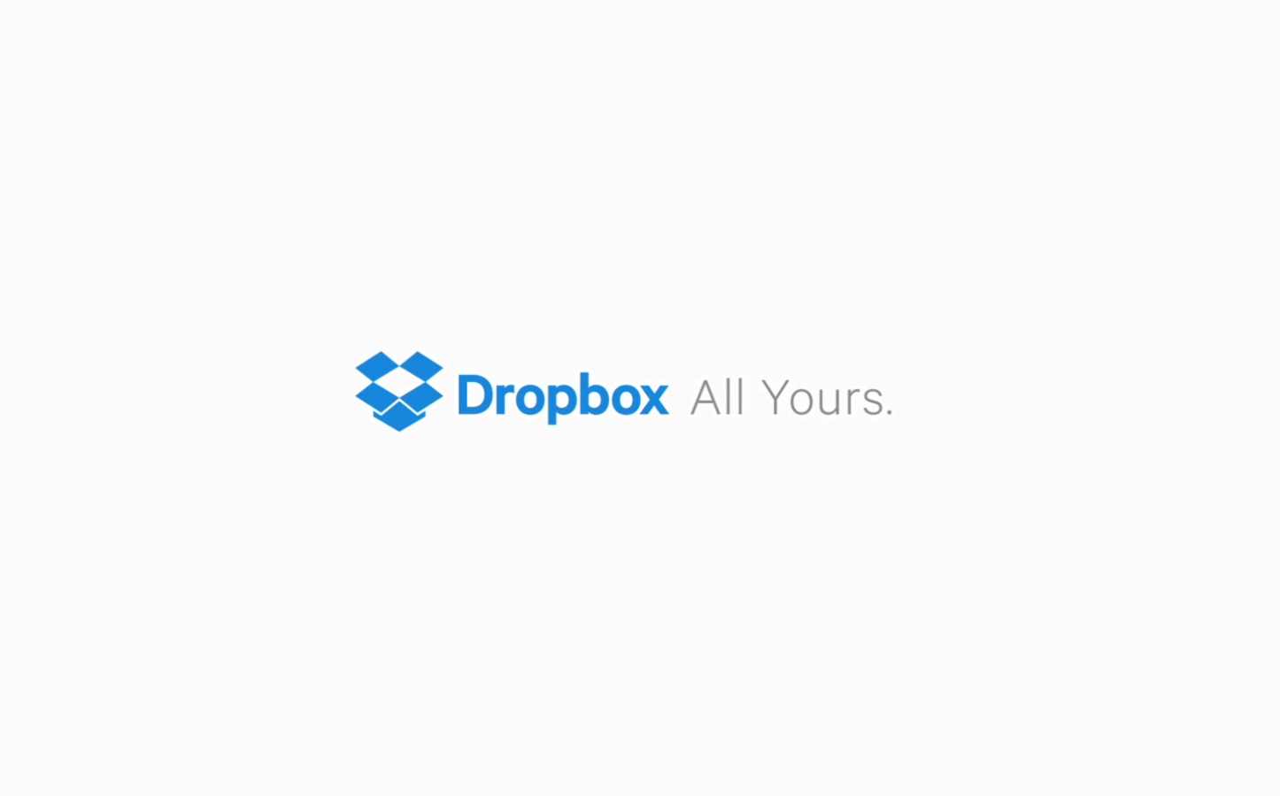 Dropbox New Logo