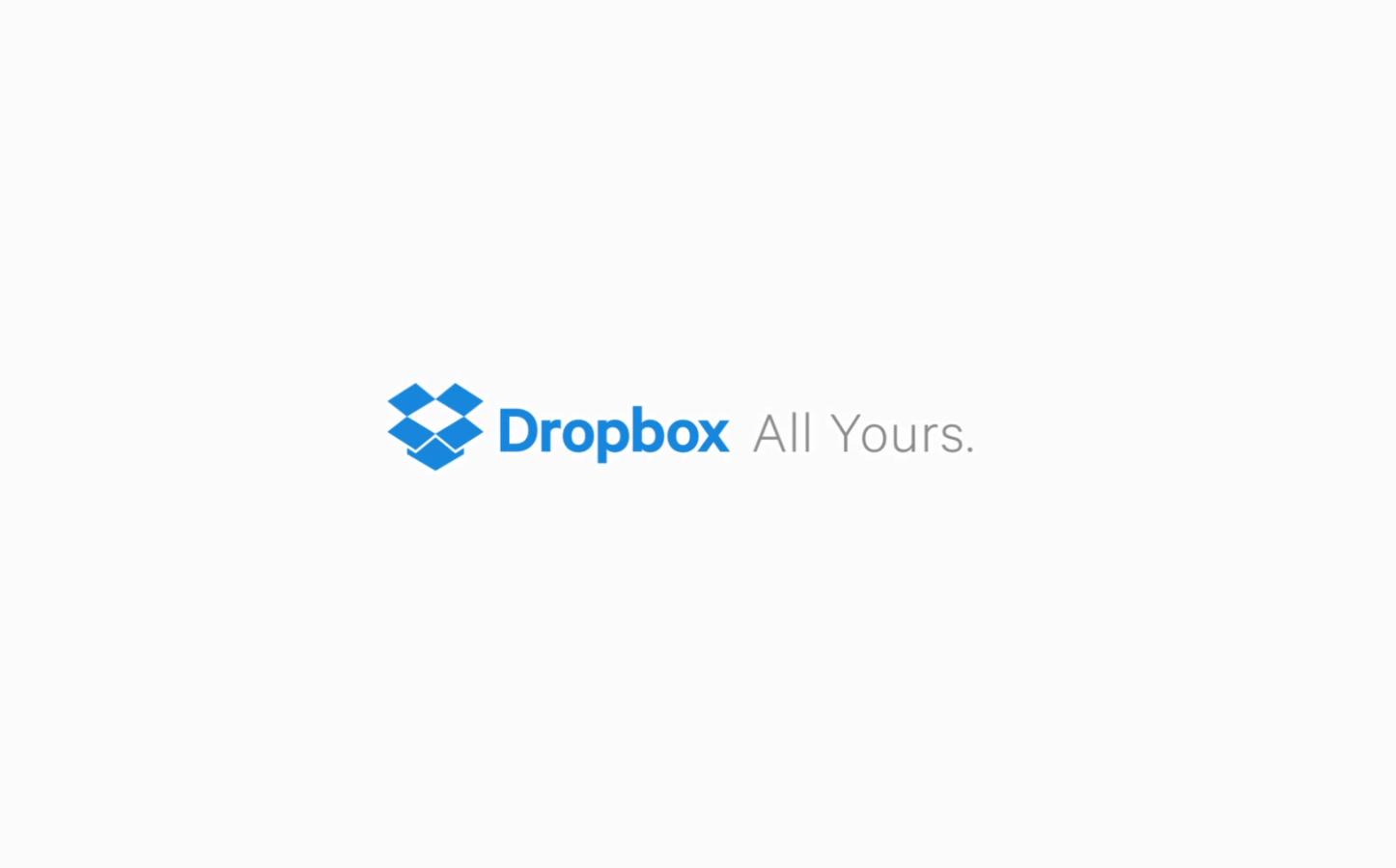 Dropbox New Logo
