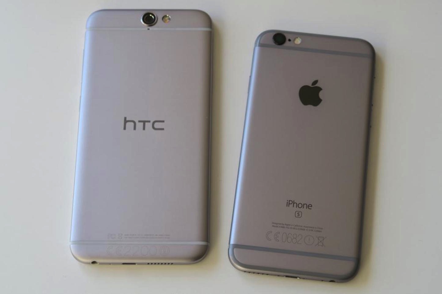 HTC One A9 Copying the iPhone