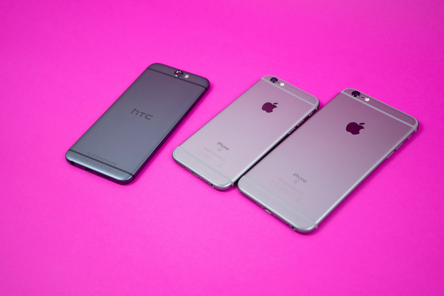 Htc one a9 and iphone6s