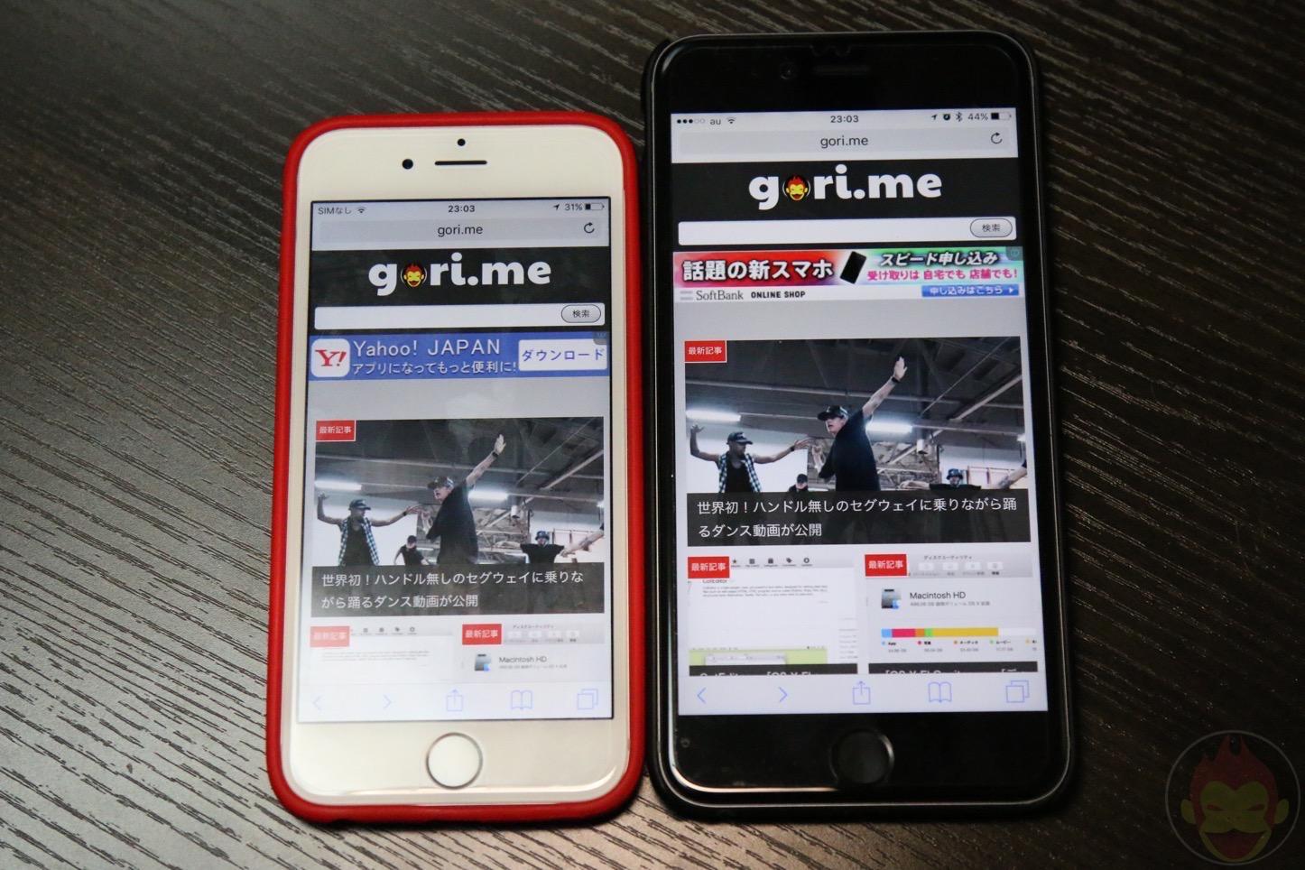 「iPhone 6s」と「iPhone 6s Plus」を徹底比較