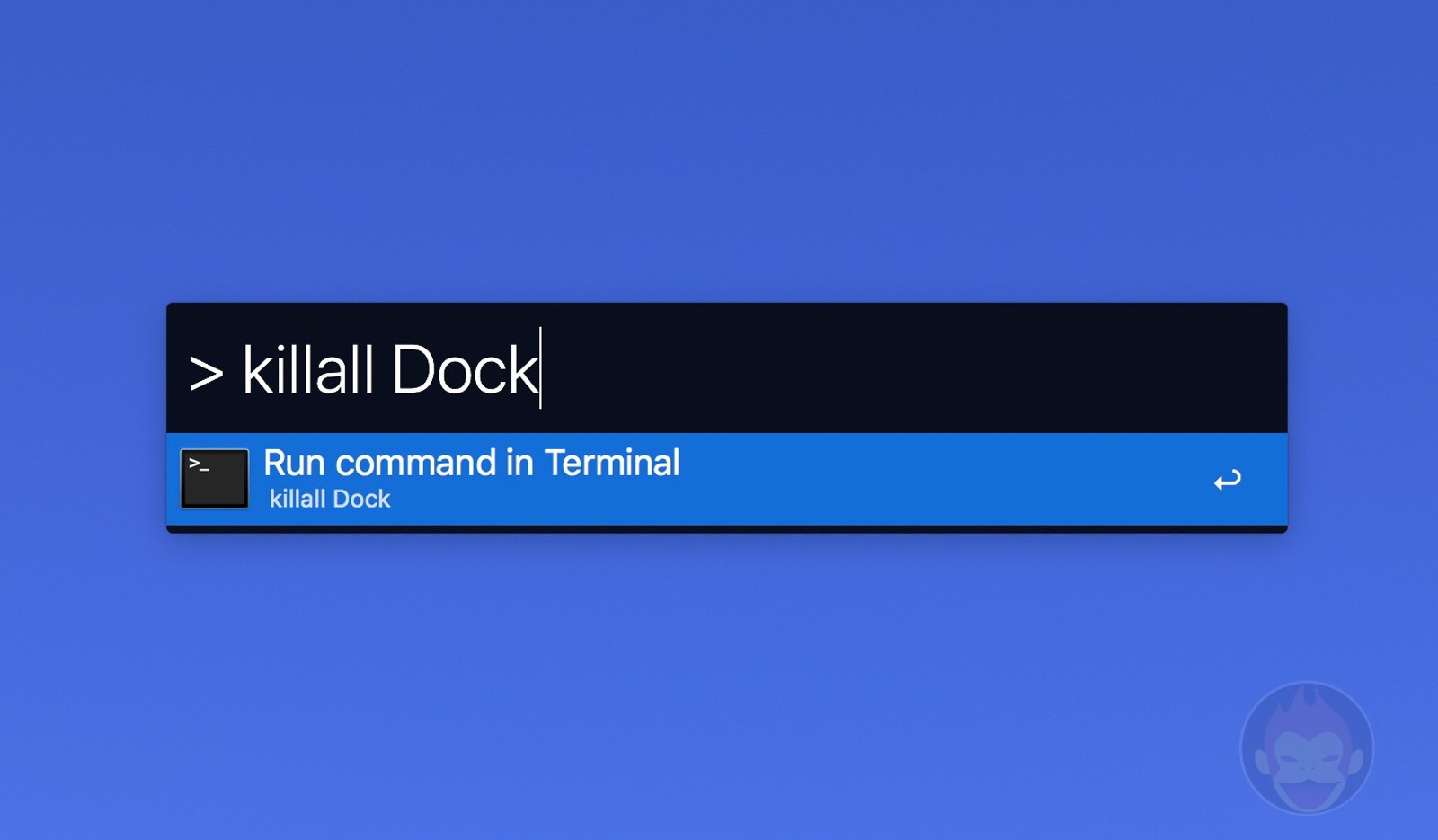 kill all dock