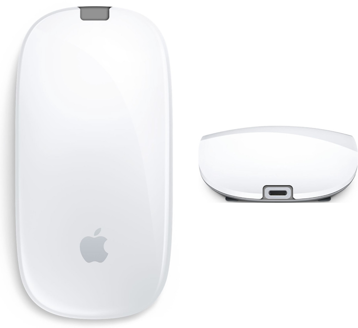 Magic mouse 2 mock up lightning port