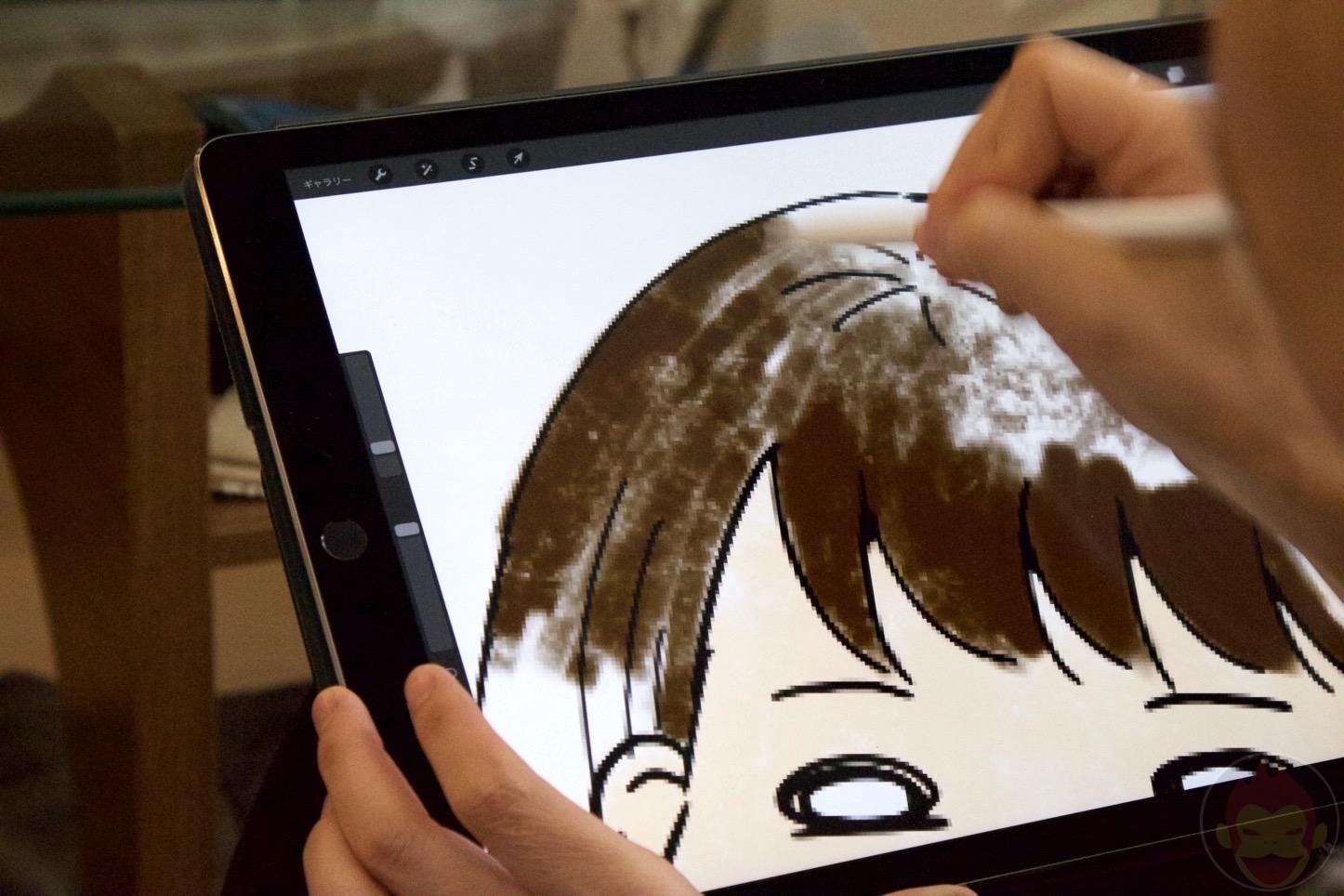 Apple Pencilのイラストレーターレビュー