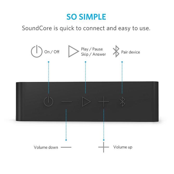 Anker SoundCore Bluetooth Speakers