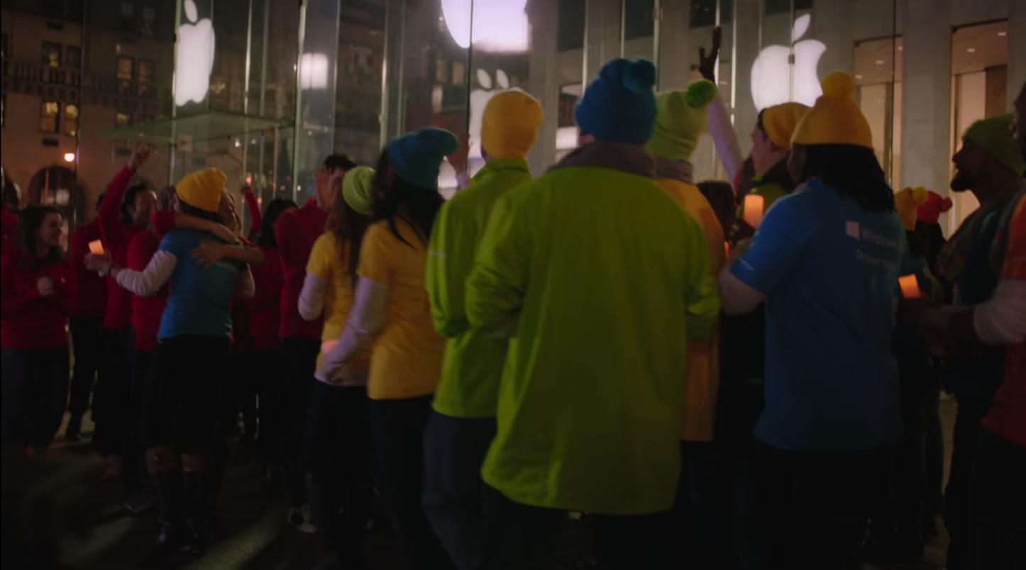 Microsoft Apple CM