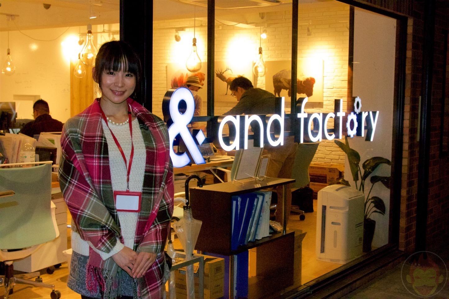 and factory株式会社(スマートフォンアイディアカンパニー)
