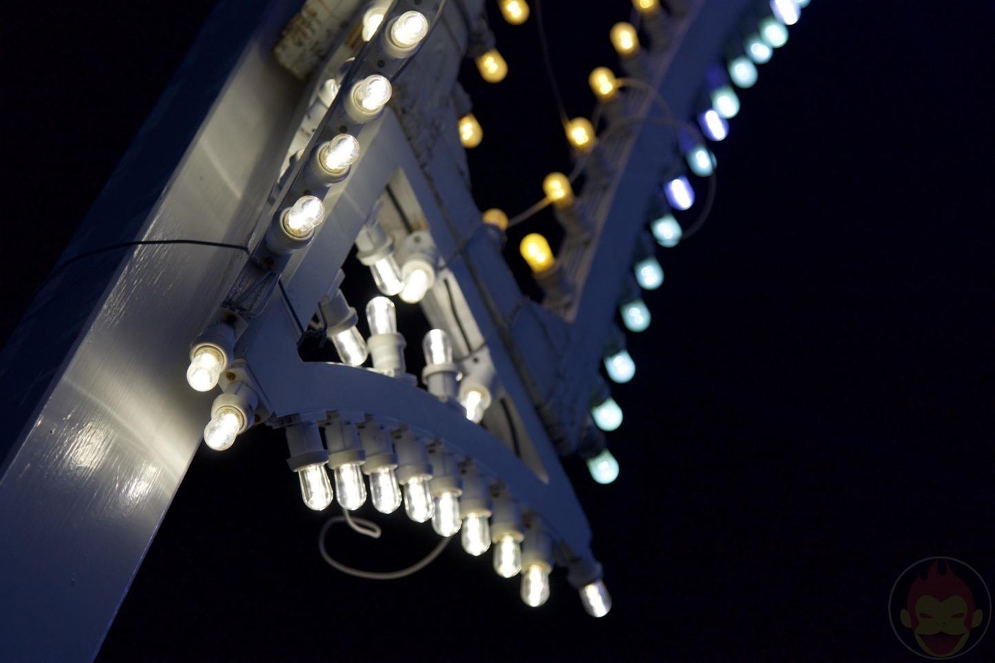 神戸ルミナリエ2015のLED電球