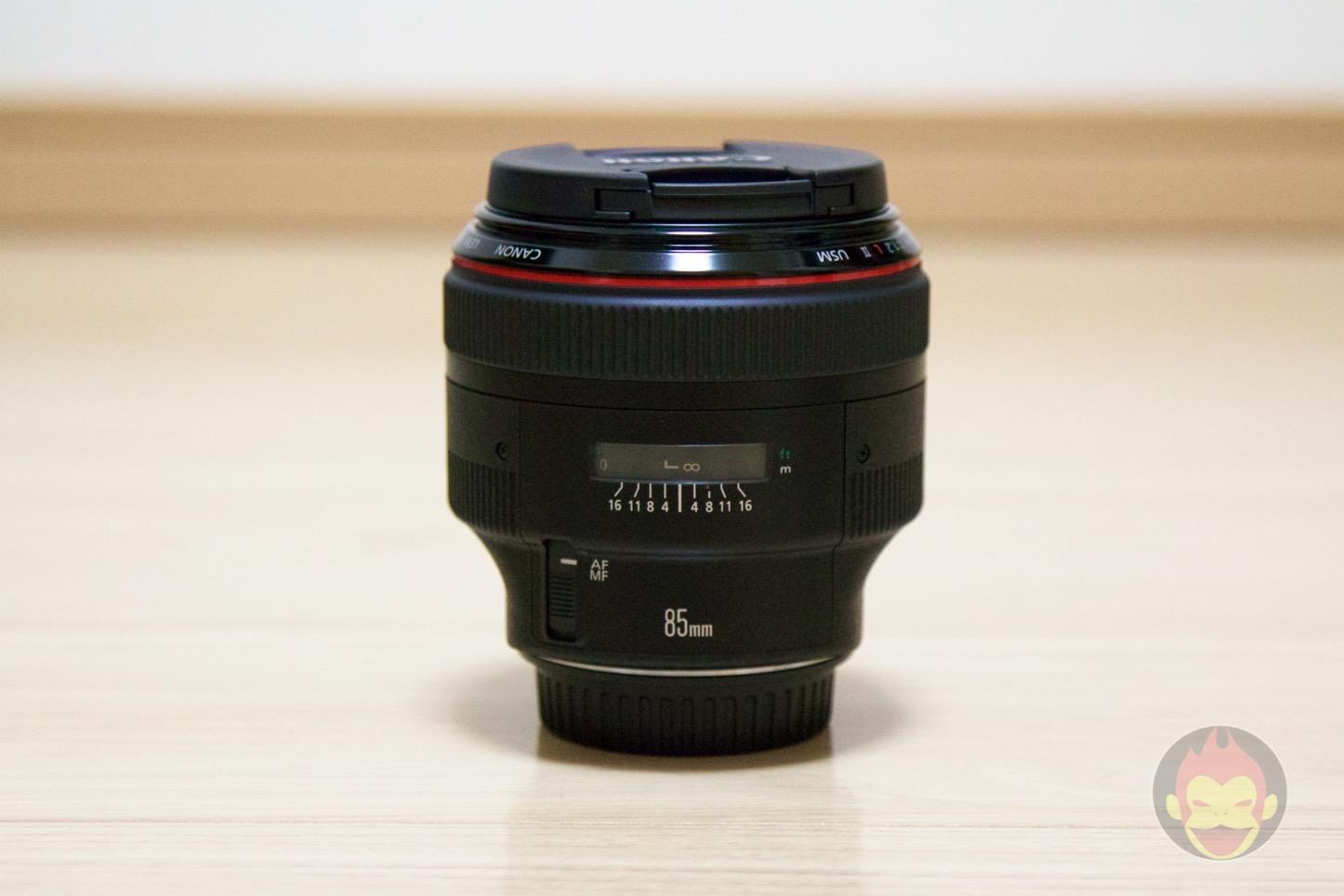 Canon Lens EF85mm F1.2 II USM