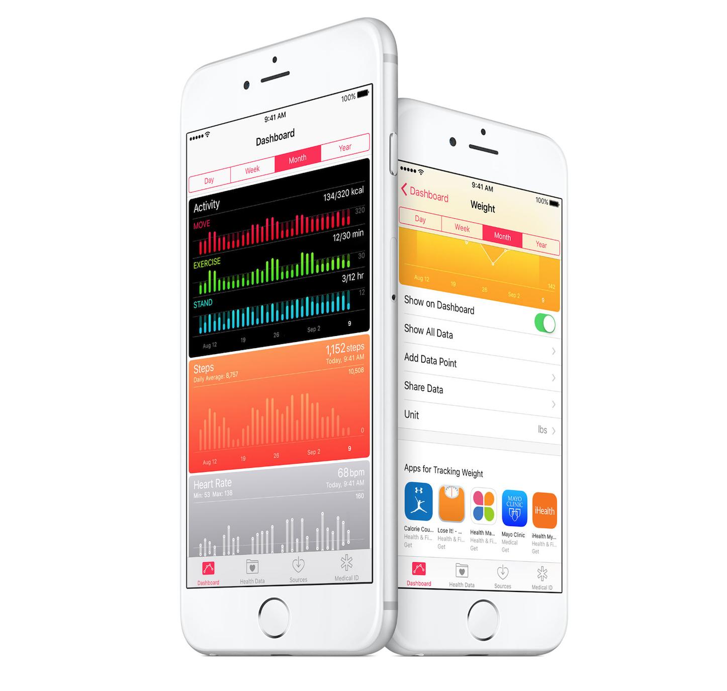 Health App iOS 9.3