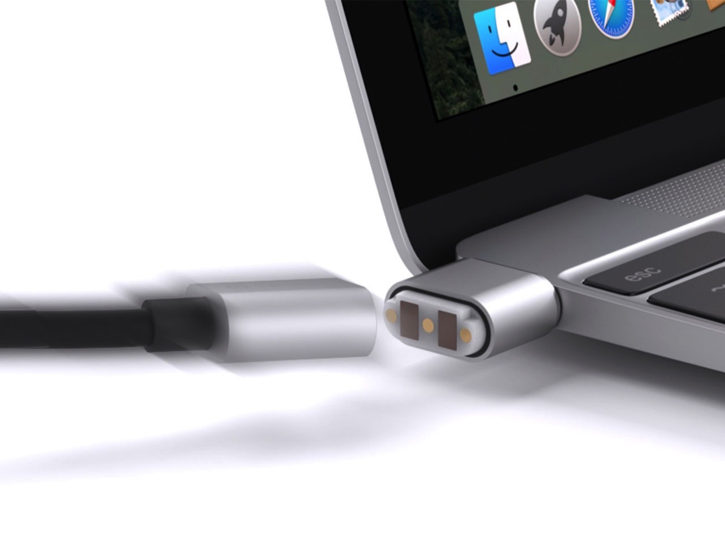 Breaksafe usb c power cable