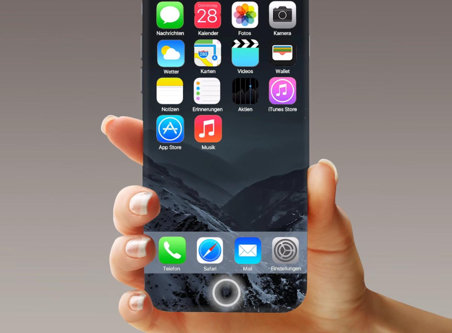 「iOS 10」が動作する「iPhone 7」のコンセプトムービー
