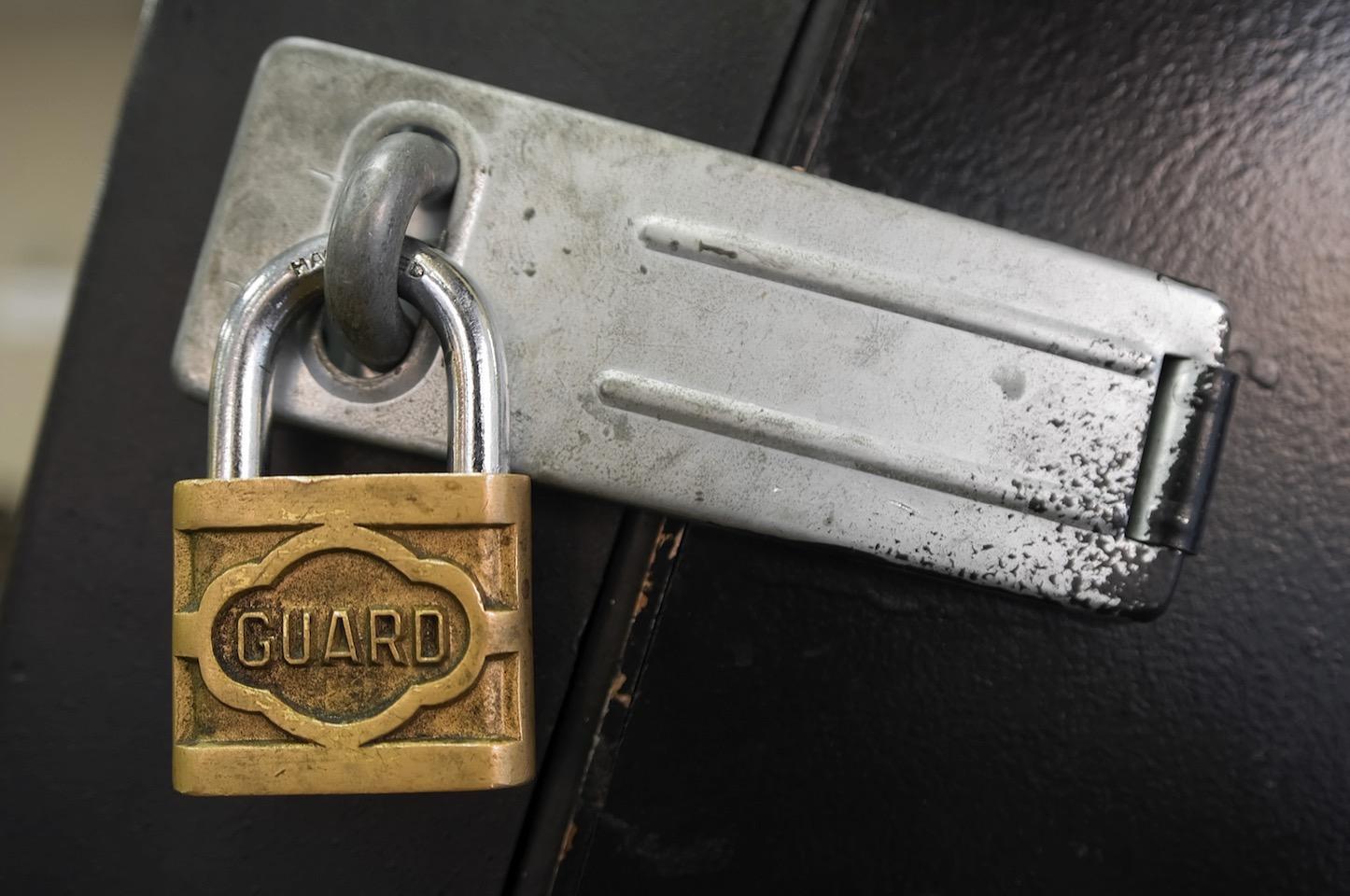 Security guard lock
