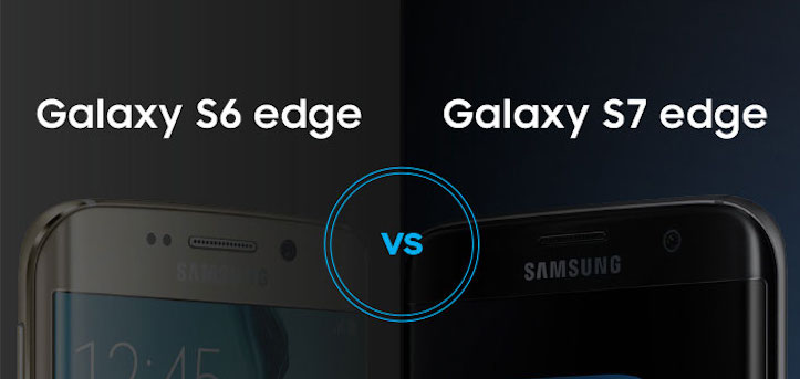 Galaxy s6 edge s7 edge Comparison