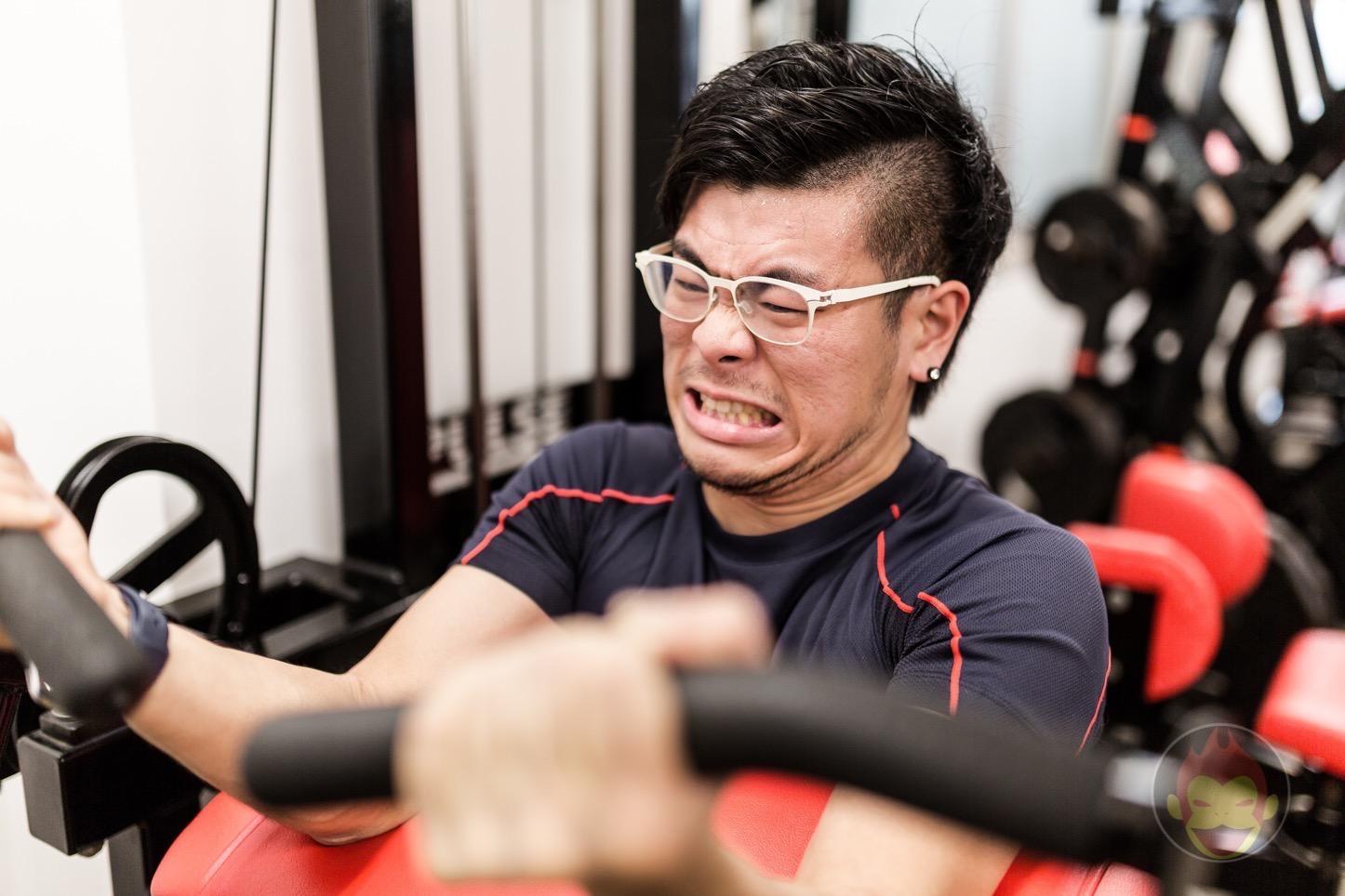 Gori Workout At Midpress Gym