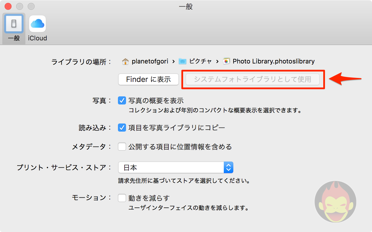 Use As System Photo Library