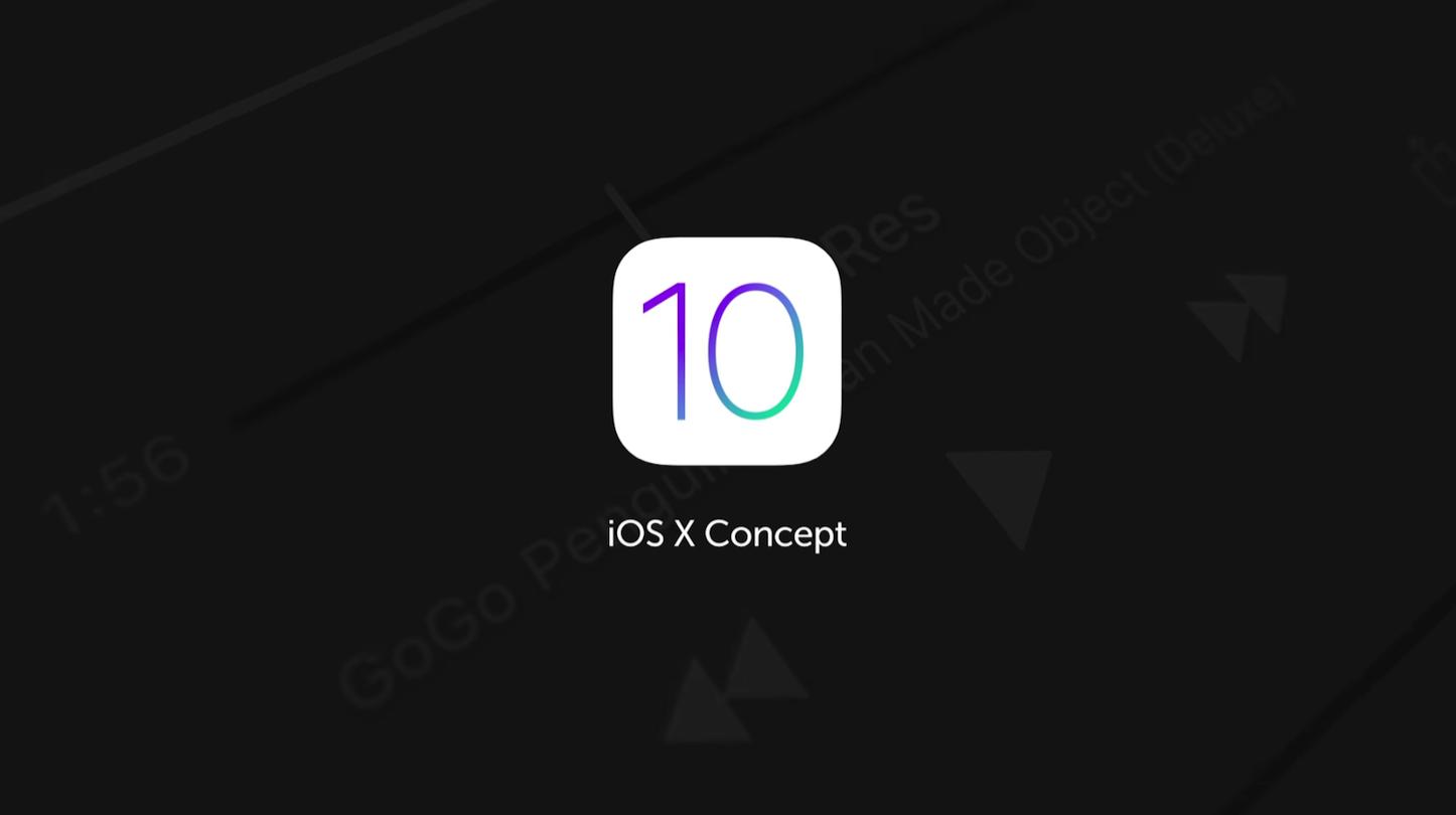 IOS 10 Concept Movie