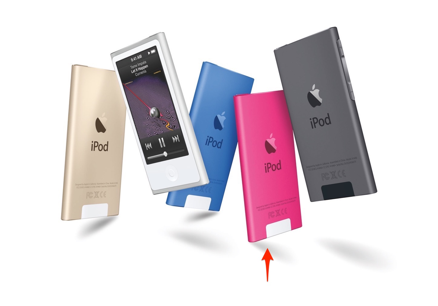 IPodNano 5Color Dancing Pink