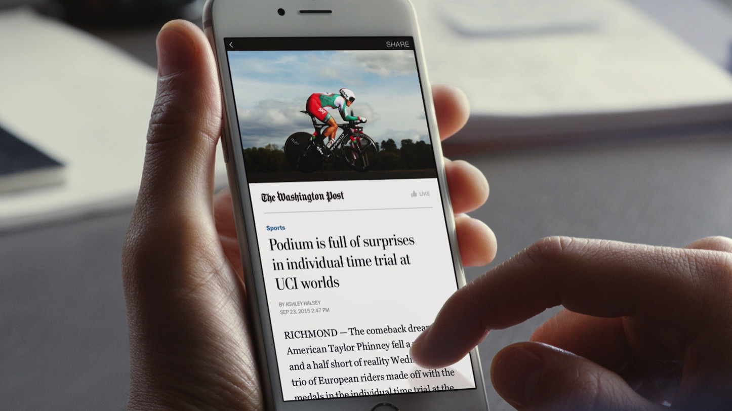 Instant articles to all publishers