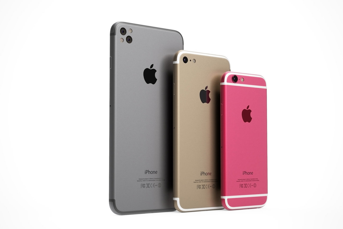 Iphone5se pink color concept image