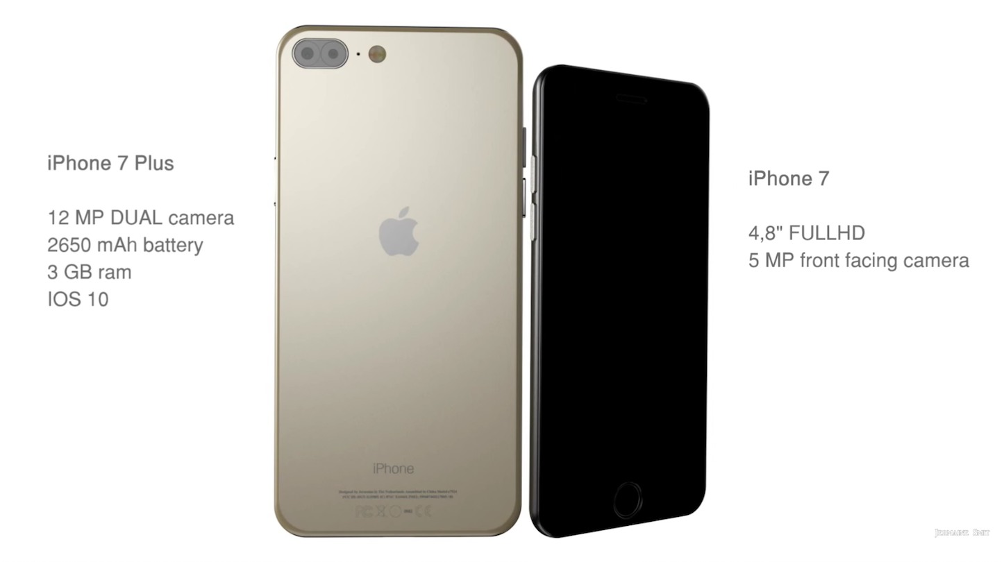 Iphone7 7plus concept