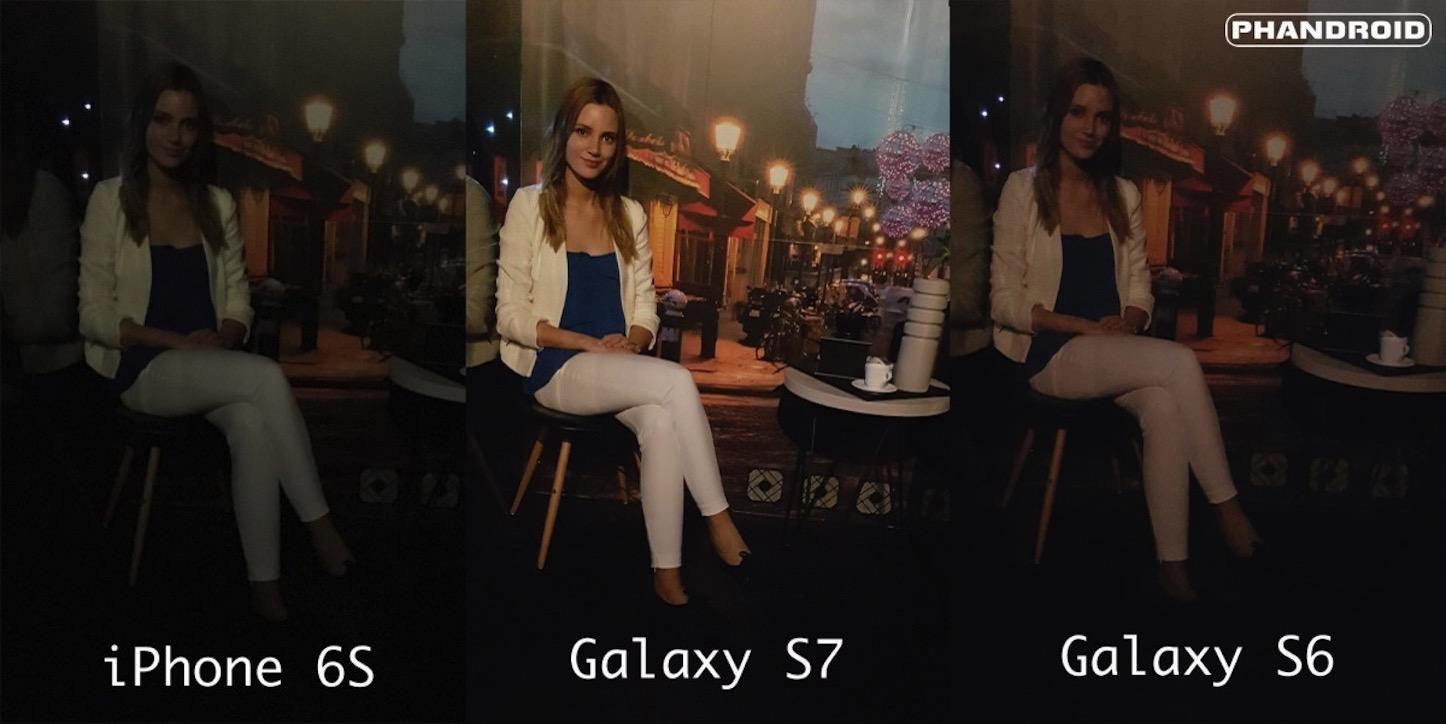 S7 vs iphone6 camera comparison