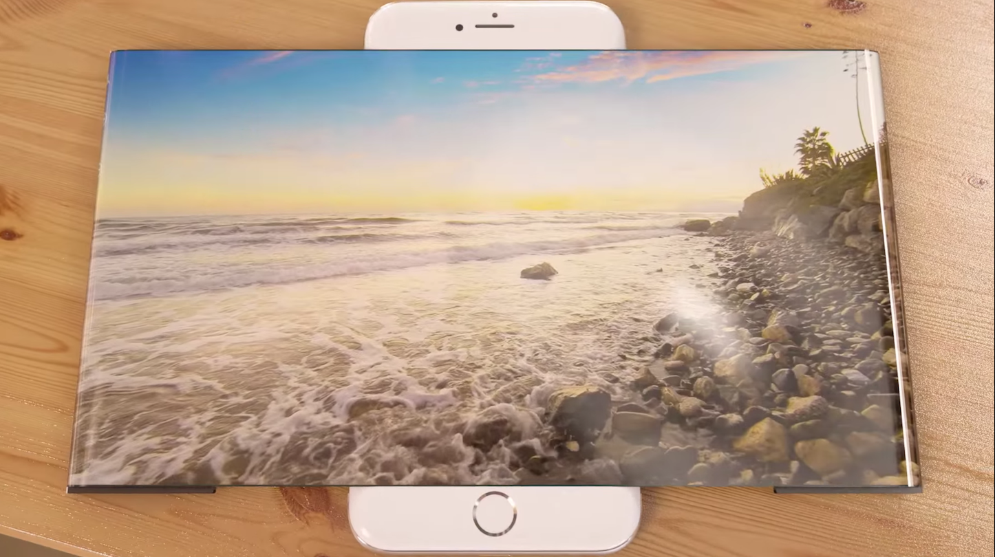 Strange iphone7 concept movie