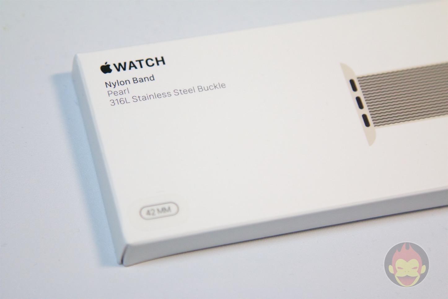 Apple Watch Woven Nylon Band(ウーブンナイロン)