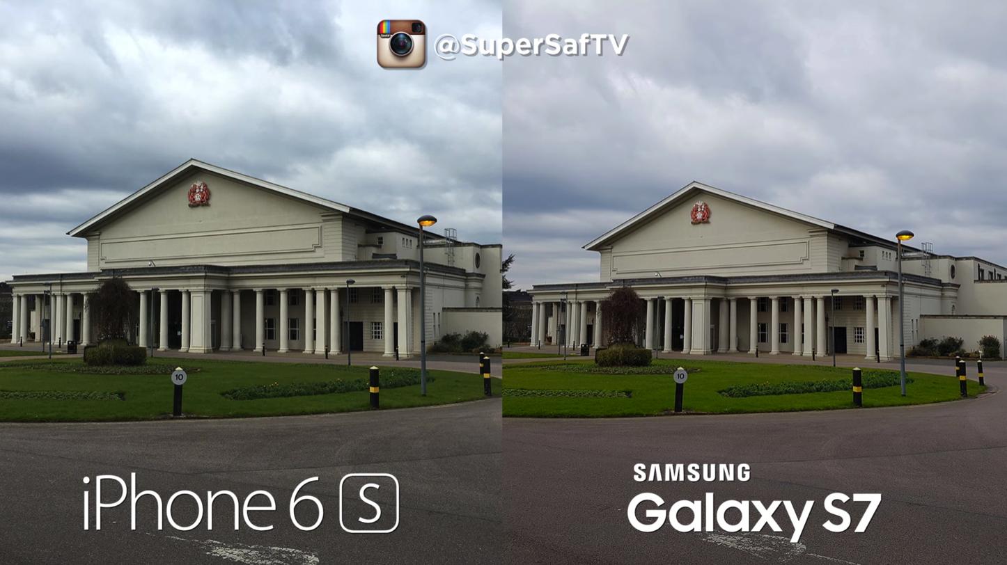 Galaxy S7 iPhone 6s6sPlus Camera Comparison