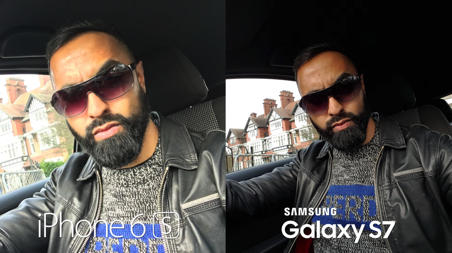 Galaxy S7 iPhone 6s6sPlus Camera Comparison