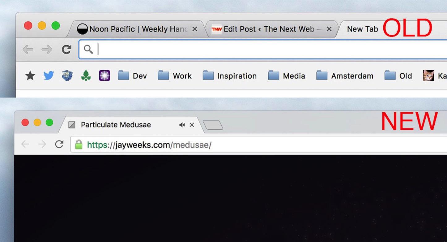 Google Chrome Design Renewal