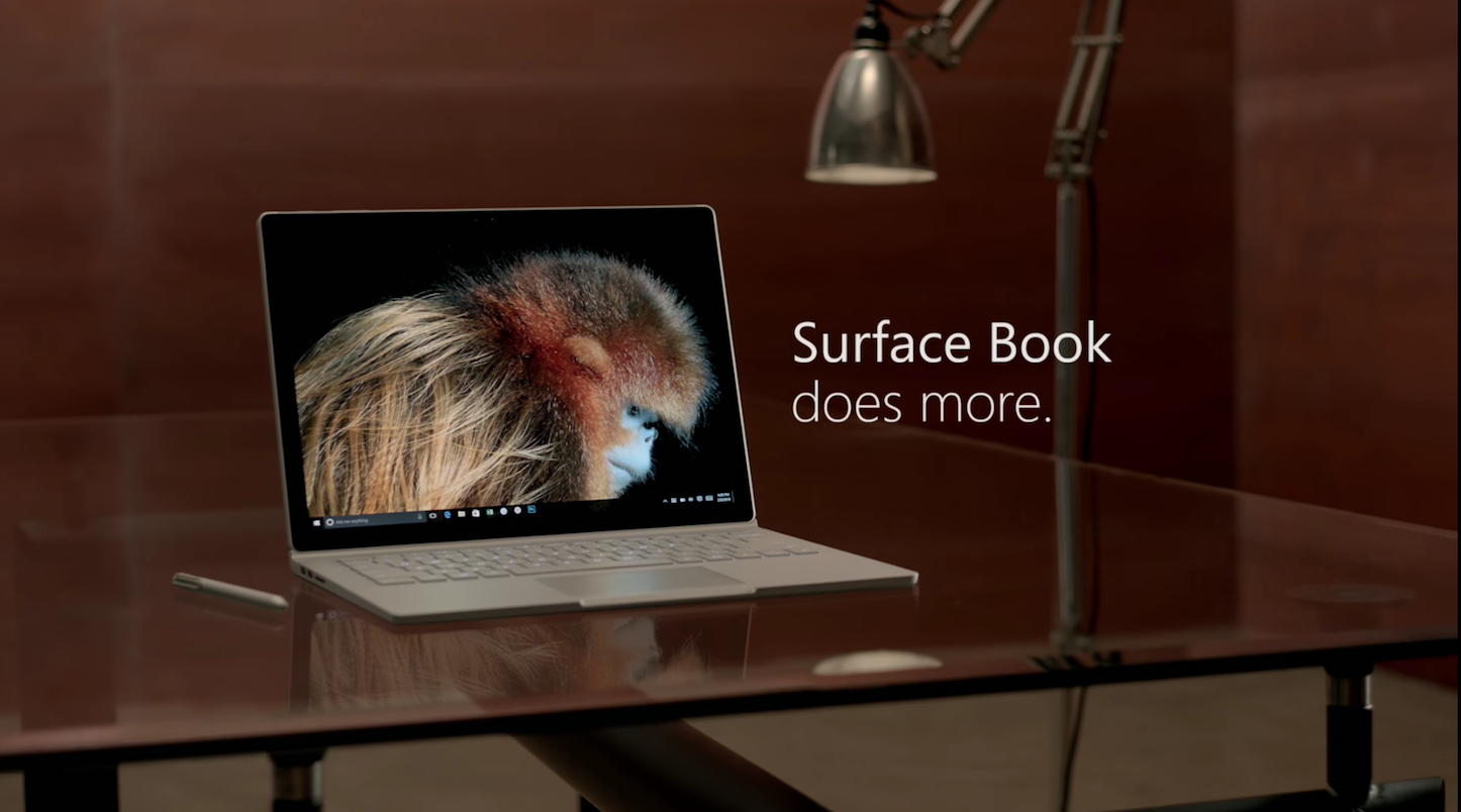 Surface Does More TV CM