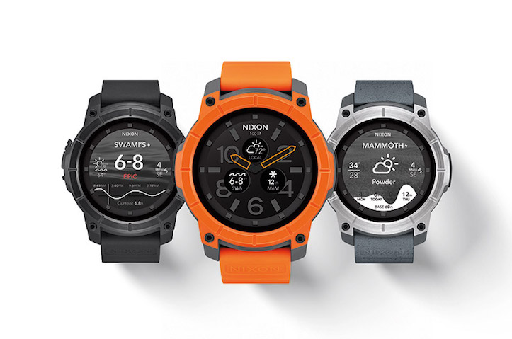 The Mission NIXON Smartwatch
