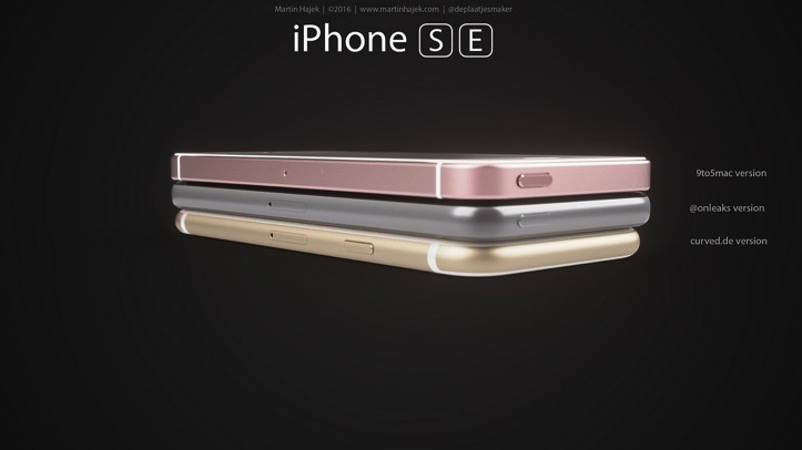 IPhone SE Rendering Martin Hajek