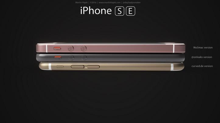 IPhone SE Rendering Martin Hajek