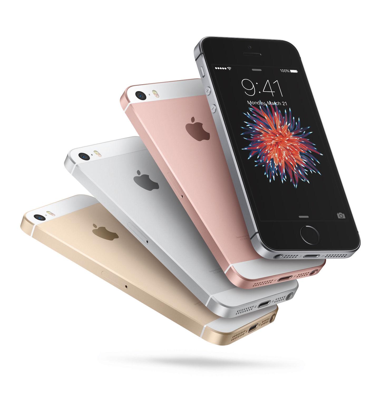 IPhoneSE 4色 Apple公式画像