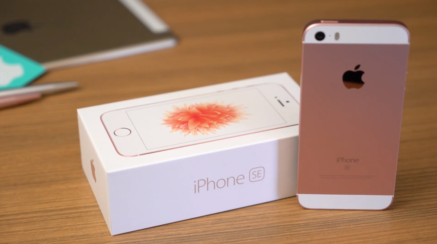Iphone se rose gold review
