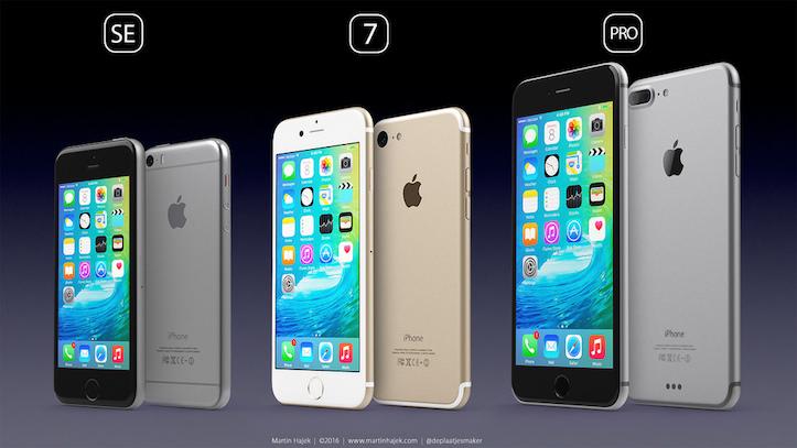 Iphone se 7 pro concept images