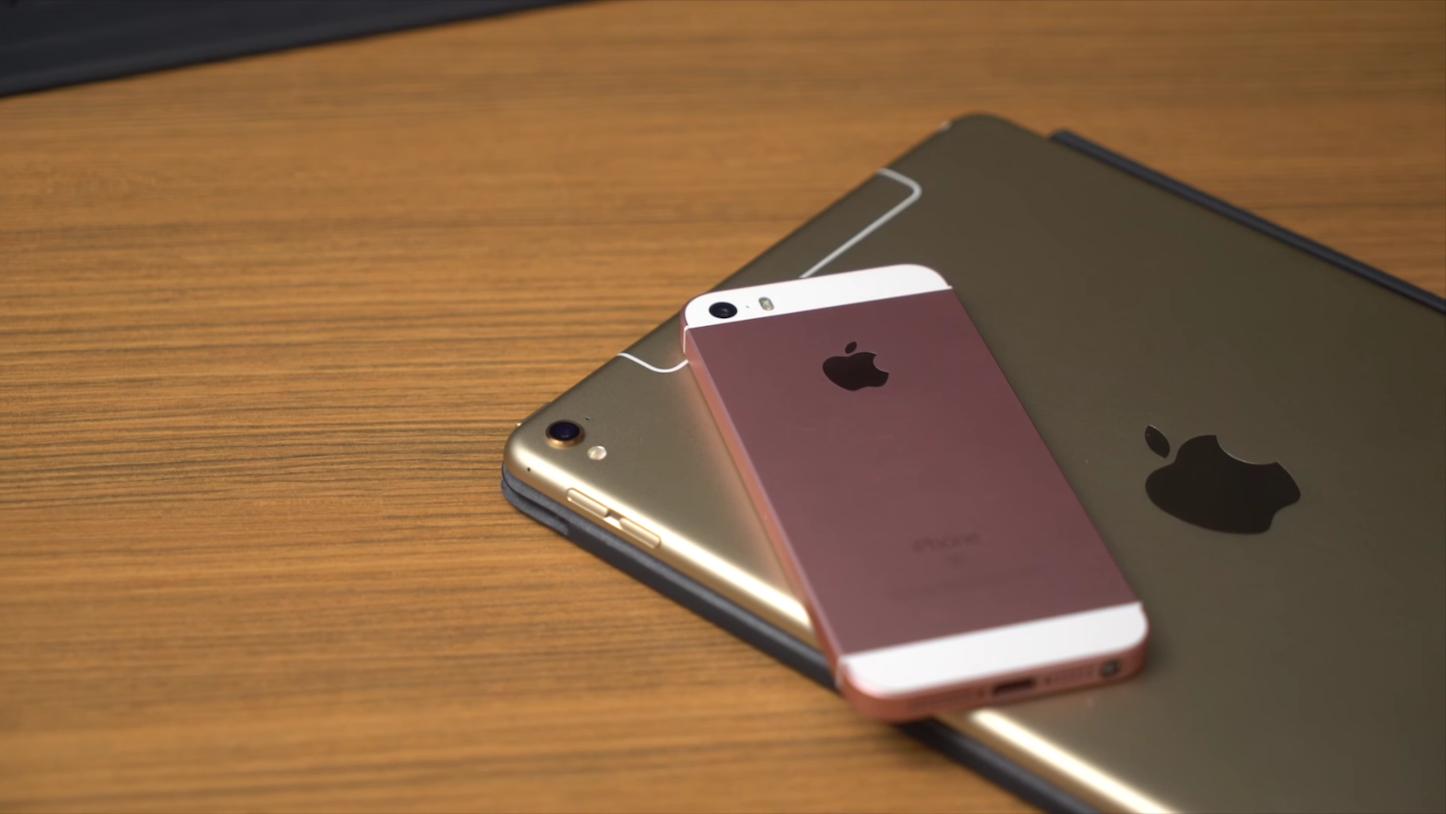 Iphone se ipad pro 9.7 unboxing